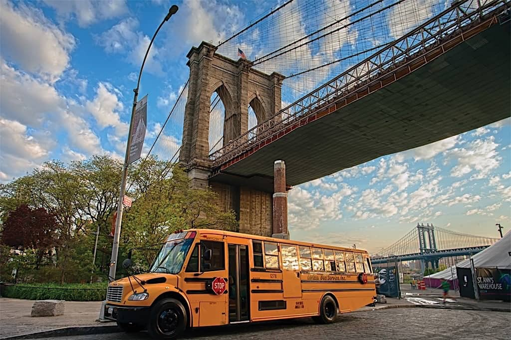 Communications, Tracking Devices Required for all NYC School Buses