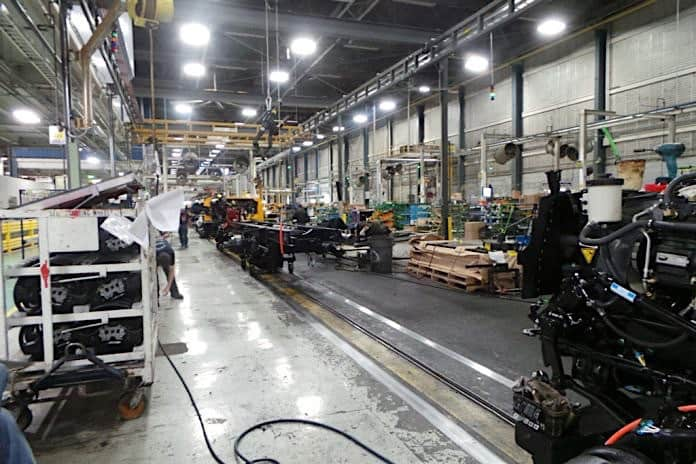 FIle photo of the IC Bus plant in Tulsa, Oklahoma.