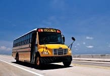 Stock photo of a school bus.
