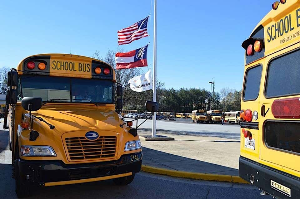 Georgia School Bus Drivers Encounter Pushback on Sick-Out