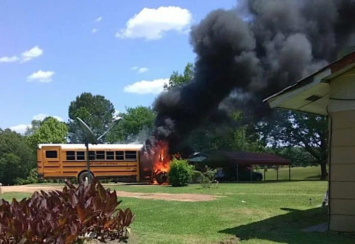 Image sent in to Mississippi News Now by parent Miesha Ammons.