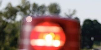 Stock photo of police light.