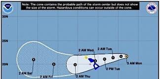 Hurricane Olivia, flooding