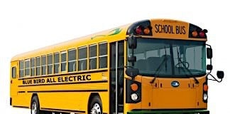 Blue Bird electric school bus