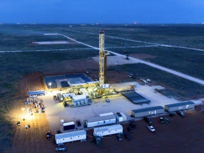Chevron's Permian Basin facilities in Texas.