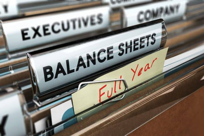File folders for fiscal year reporting