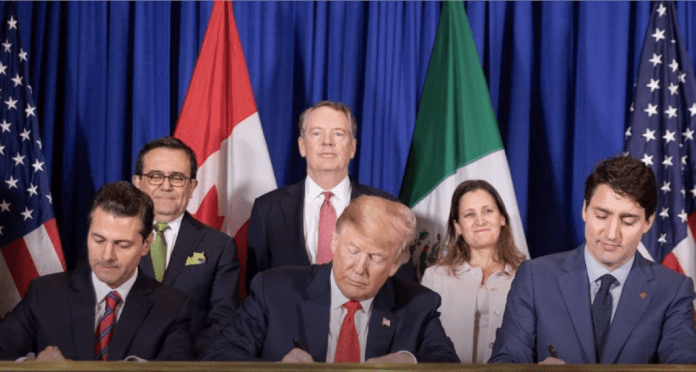NAFTA is being replaced by the USMCA deal, which was signed on Friday, Nov. 30, 2018, by the leaders of Canada, Mexico and the U.S. It is subject to approval by the congresses in the three countries. (White House Photo.)