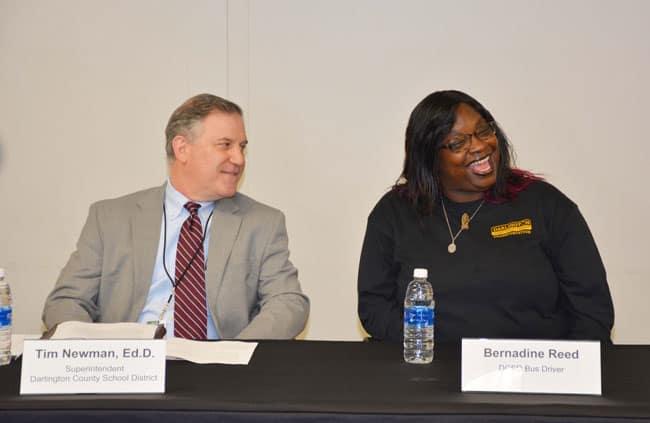 Bernadine Reed press conference