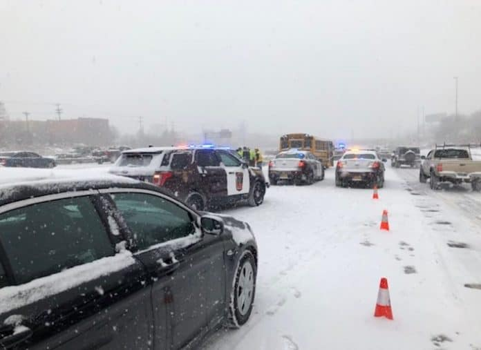 In what resembled an old western-style shootout, a school bus driver was shot in a suspected road rage incident. Photo from the Minneapolis Police Department.