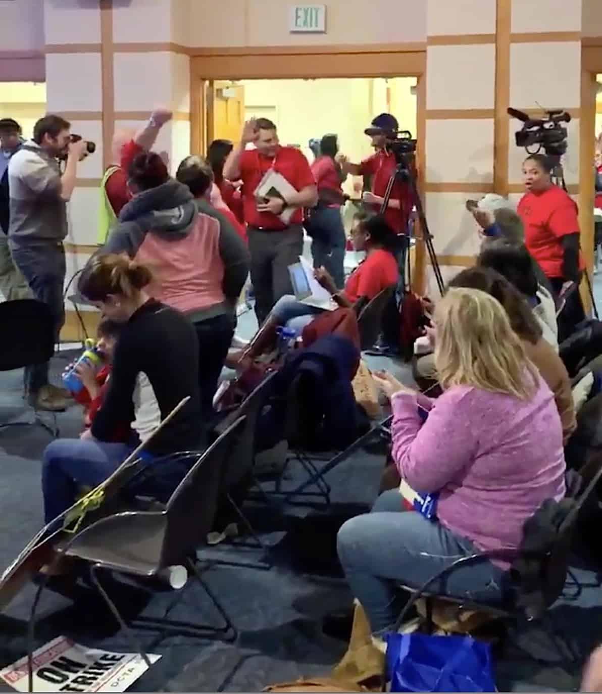 Denver Teacher Strike: Denver Teachers Strike Enters Day 3; Some Progress