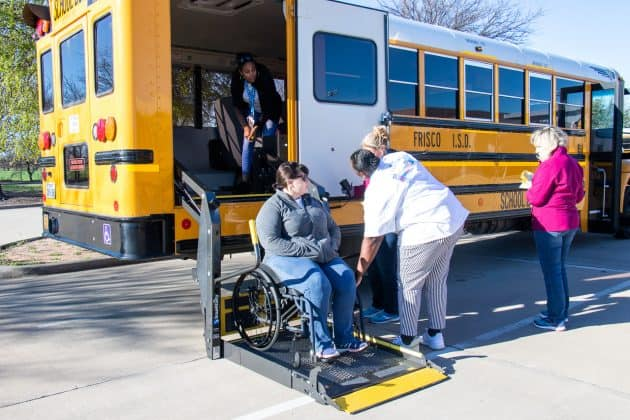 A team competes at the Roadeo during the 2019 TSD Conference in Frisco, Texas.