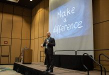 Patrick Mulick, autism and behavior specialist for Auburn School District in Washington state, presented a heartwarming message to TSD Conference attendees on March 19, 2019.