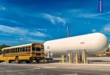 propane school bus