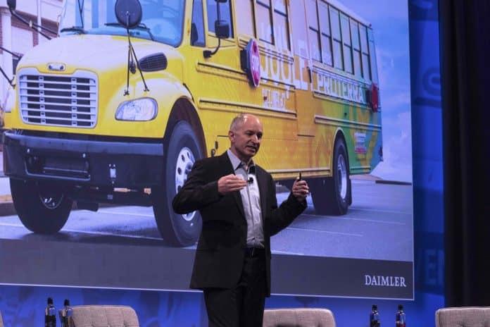 Roger Nielsen of Daimler Trucks North America