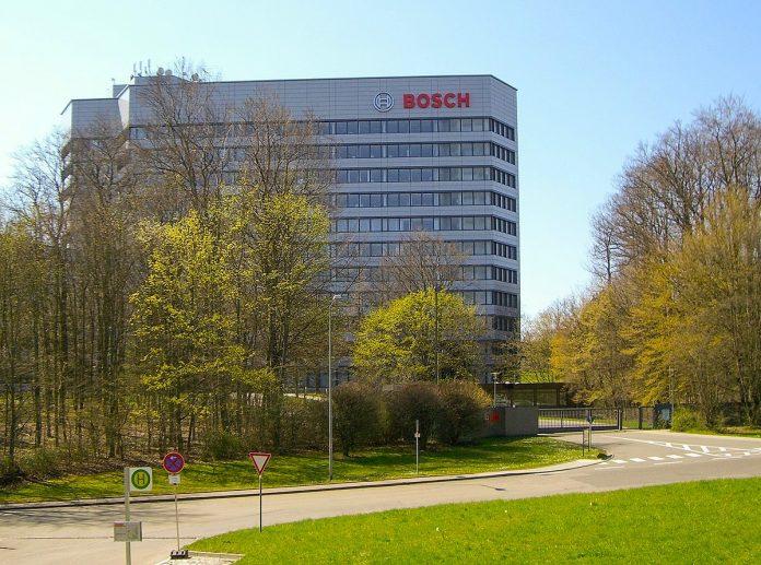 Bosch world headquarters in Stuttgart, Germany. Photo by Mac105, Eigene Erstellung, Public Domain.