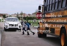 make school bus stops safer
