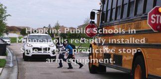 make school bus stops safer