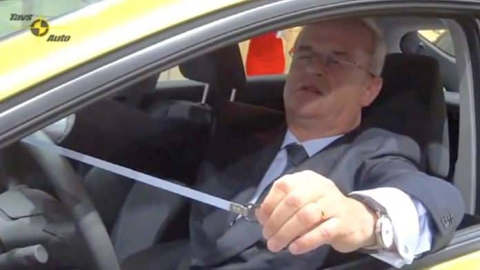 Martin Winterkorn is accused of fraudulently promoting Volkswagen clean diesel technology during over 20 visits to various auto shows while he was the CEO and chairman of Volkswagen AG's Board of Management. (Source: U.S. SEC.)