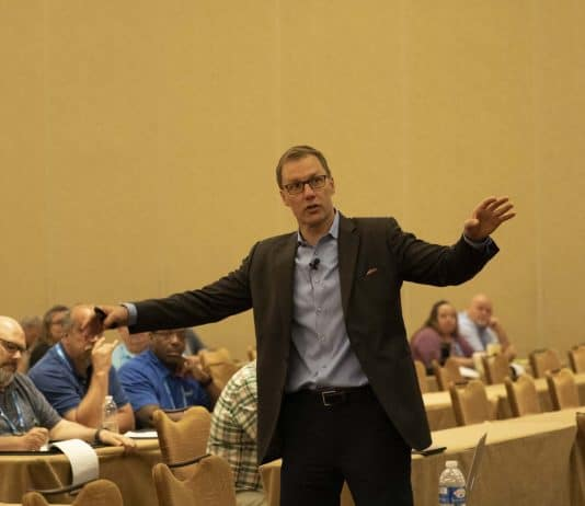 David Horsager gave a keynote address at STN EXPO Indy on June 11, 2019.