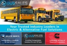 Free electric school bus webinar brought to you by A-Z Bus Sales.