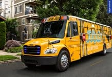 Thomas Built Buses presents its new electric school bus Jouley