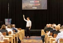 Ryan Avery speaks to STN EXPO Indianapolis attendees on Sunday, June 9, 2019.
