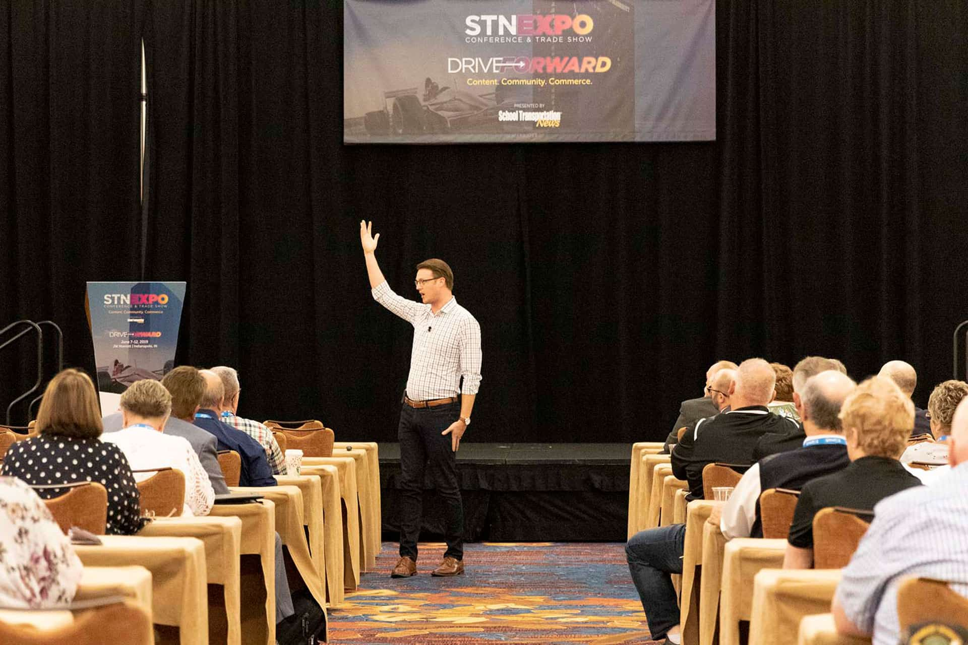 STN EXPO Indy Keynote Delivers Strategies on Converting Dreams to