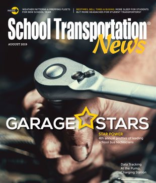 August 2019 issue of School Transportation News