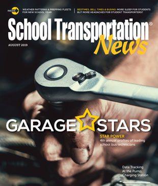 August 2019 issue of School Transportation News