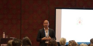 Behavioral specialist Patrick Mulick presents to the STN EXPO audience during a four-hour seminar on Saturday, July 27, 2019.