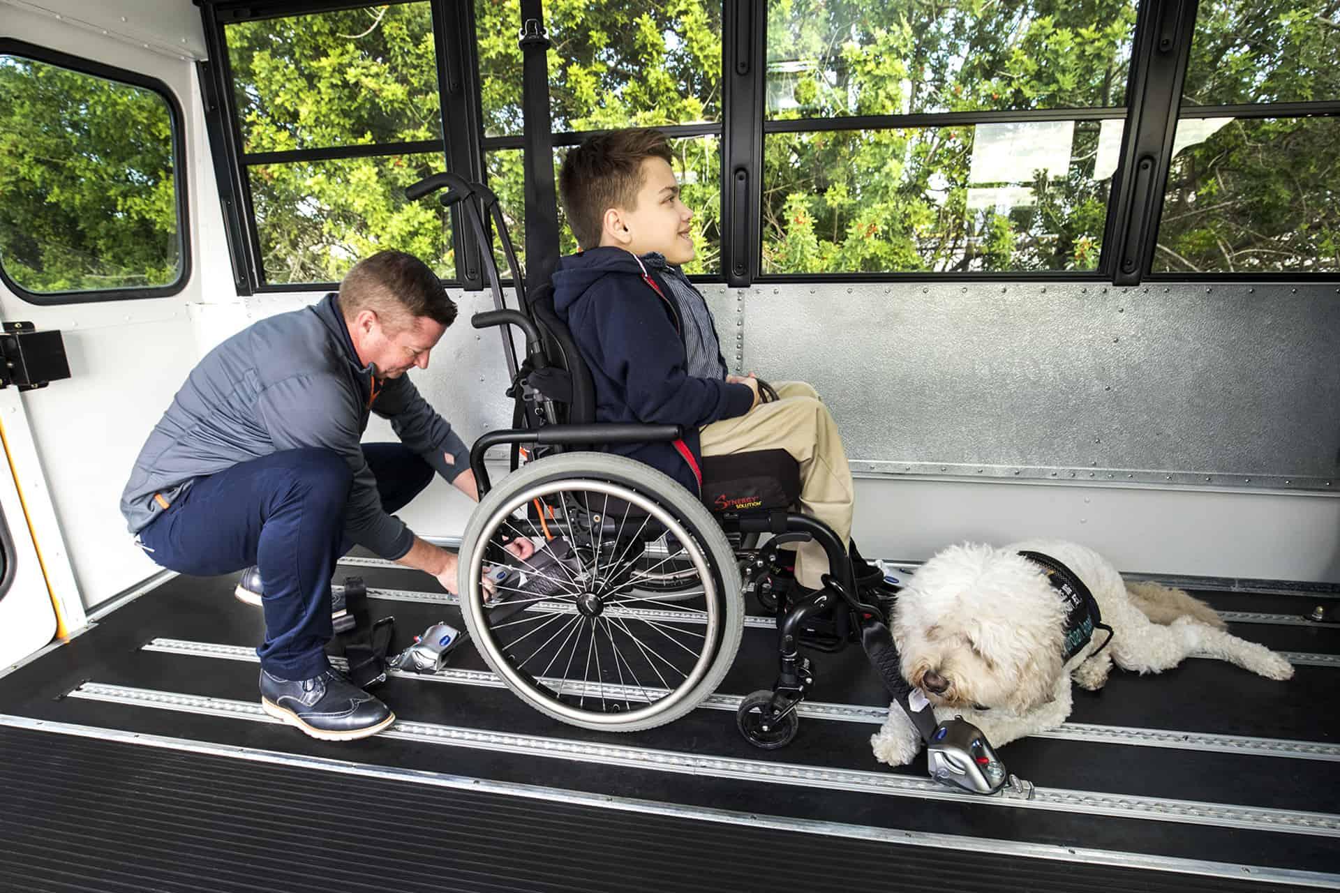Recorded Webinar: A Journey to Safer Wheelchair Transportation - School  Transportation News
