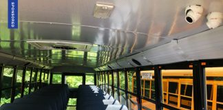 Safety Vision interior school bus camera