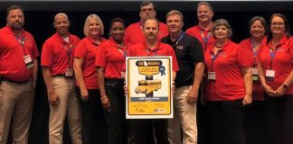 Cobb County School District was one of 16 Georgia schools recognized for going above and beyond in safe and efficient student transportation. (Photo courtesy of Cobb County School District)