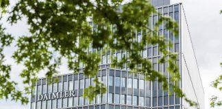 Daimler AG Headquarters in Stuttgart, Germany.