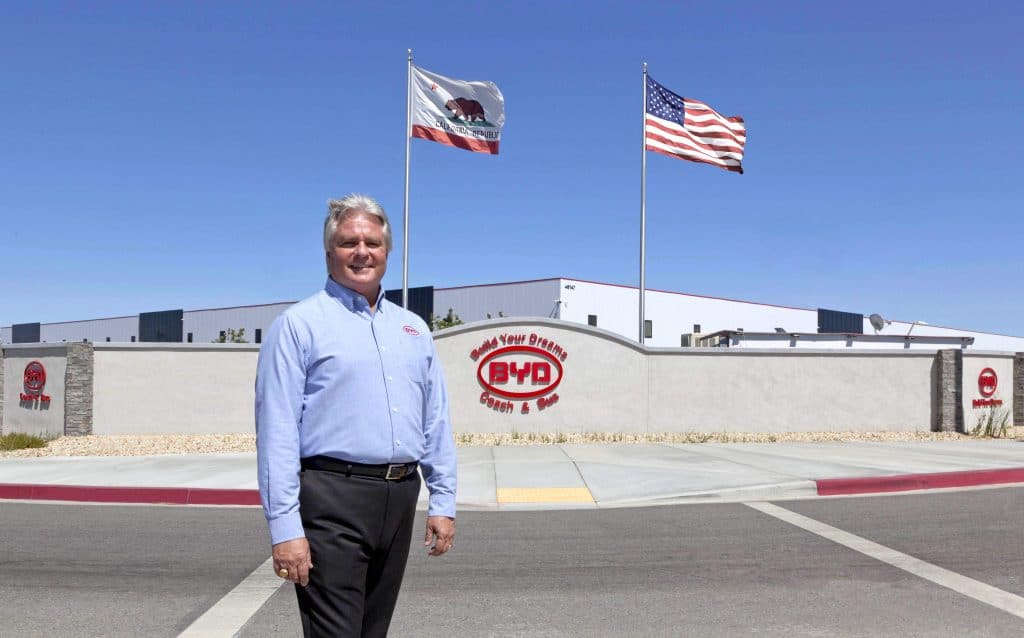 Bobby Hill, VP of sales with BYD's North America division.
