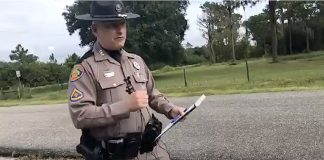 A Florida state trooper explained what happened at the scene of the incident to a WWSB ABC7 reporter.
