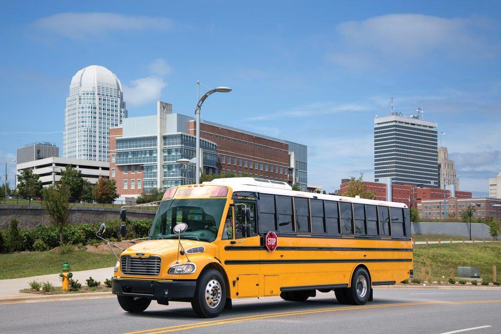 Thomas Built Buses Safe-T-Liner C2 with an Allison transmission