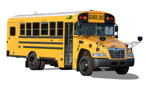 Blue Bird's fourth-generation Vision Propane bus