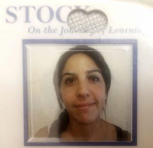 school bus driver Laura Palazzotto