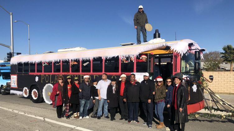 Lourdes Anguiano submitted photos from the 2019 Palmdale School District Christmas parade in Southern California, with its Polar Express entry.