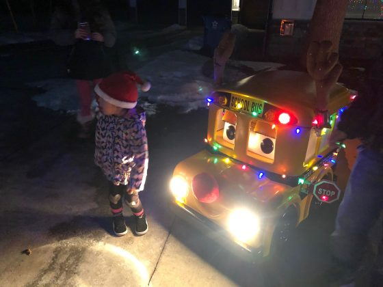 Philip May, transportation training specialist, Boulder Valley School District, submitted these school bus and parade photos from Boulder. Some youngsters also got in on the action.