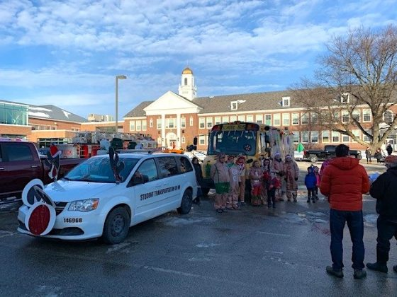 Rochester, New Hampshire took 3rd place in the local Christmas parade, according to STA.