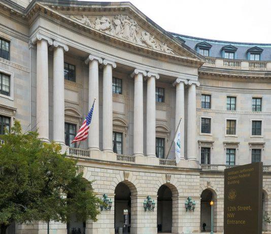 The EPA building in Washington, D.C.