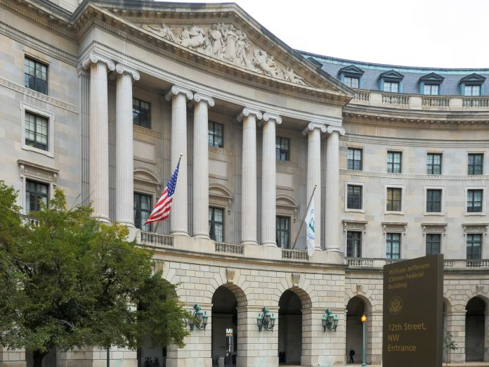 The EPA building in Washington, D.C.