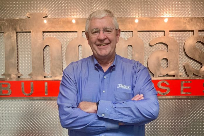 Ken Hedgecock has been a mainstay at school bus manufacturer Thomas Built Buses for the better part of the past four decades. He is retiring from Thomas Bus but remaining in the school bus industry.