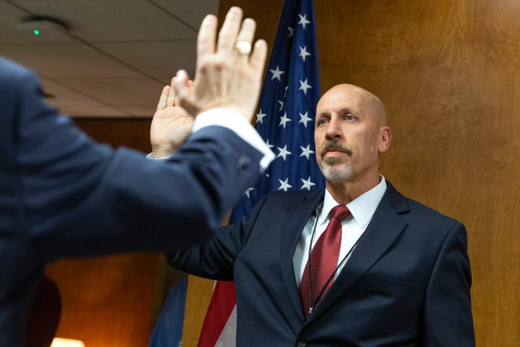 Michael Graham was sworn in as a new NTSB board member on Jan. 3.