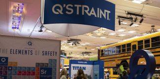 Q'STRAINT booth