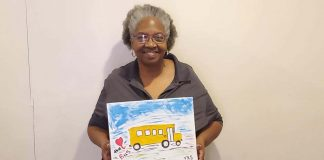 Greensville County Public Schools in Virginia hosted a Love the Bus paint party.