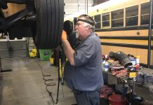 Don Bozard, a school bus technician for Chesapeake Public Schools in Virginia, represents the industry braintrust in the garage that the industry figures to lose in the coming years.