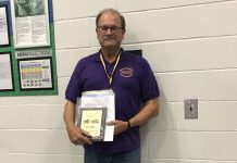 Bruce Abbott, a school bus driver and on-bus instructor for North Royalton City Schools, won the George Sontag Jr. Award for the Ohio School Bus Driver of the Year. The award was presented by the Ohio Association for Pupil Transportation.